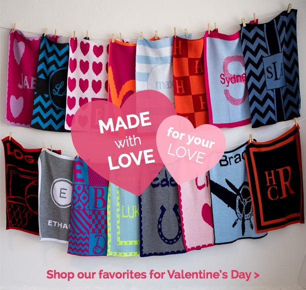 Valentines Day -- Made with Love for your love